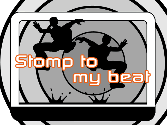 """stomp to my beat"" HD Background"